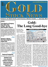 GOLD STOCK NEWS